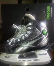 Коньки REEBOK 9K PumpРазмер на 35 р. для мальчика-хоккеиста 9-12 лет